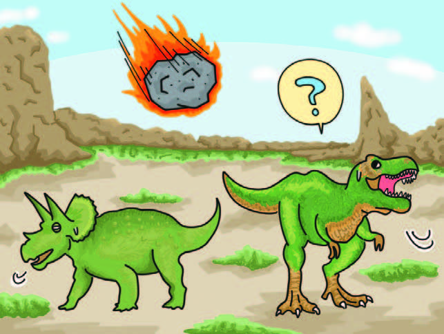 """恐竜が絶滅したのは""""運が悪かった""""から!?│コカネット"""