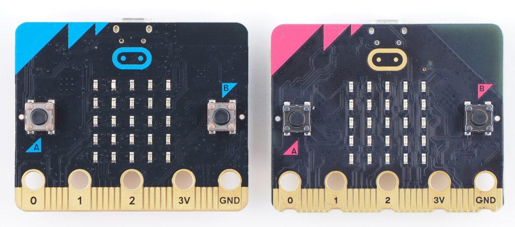 micro:bit V1とV2比較(表)