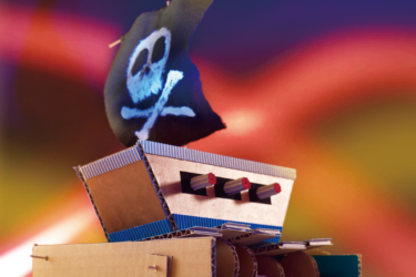 カムの動きでゆらゆら動く!「波に揺れる海賊船」-自由研究スペシャル